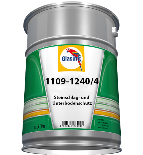 Glasurit 1109-1240/4 Steinsprut- og understellsbeskyttelse, sort