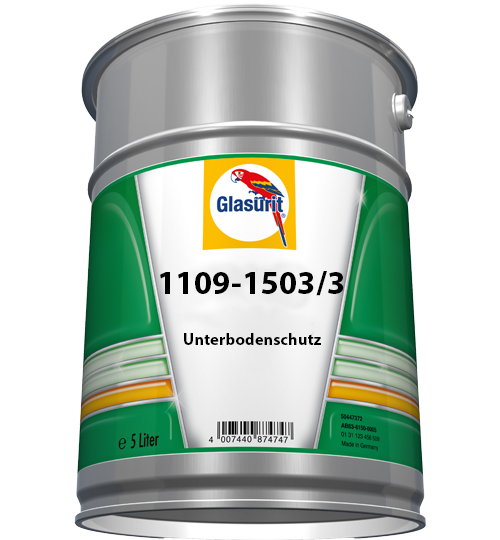 Glasurit 1109-1503/3 Stone Chip and Underbody protection, grey CV