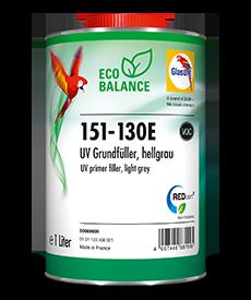 Glasurit 151-130E Eco Balance UV Primer Filler, light grey