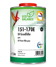 Glasurit 151-170E Eco Balance UV primer Filler, grey