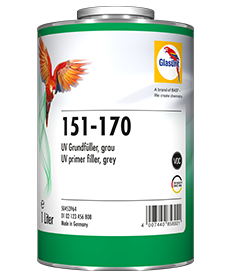 Glasurit 151-170 Imprimación aparejo UV, gris
