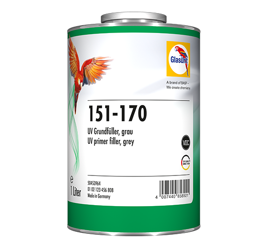 GLASURIT 151-170 UV PRIMER FILLER GREY