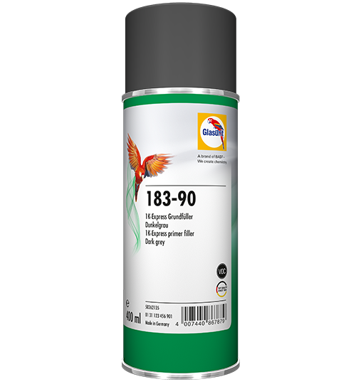 Glasurit 183-90 1K Express Primer Filler dark grey