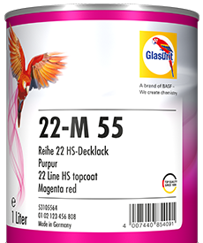 Glasurit 22-M+A  High Solid 2K-Decklack, Basisfarben