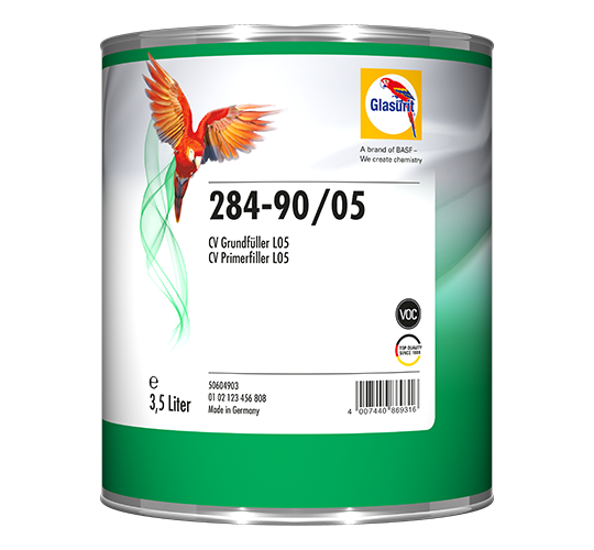 Glasurit 284-90 CV Grundfyller vit