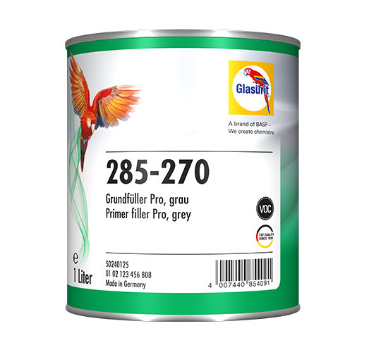 Glasurit 285-270 Primer Filler pro grey