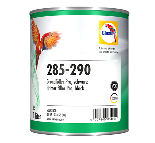 Glasurit 285-290 PRIMER FILLER PRO BLACK