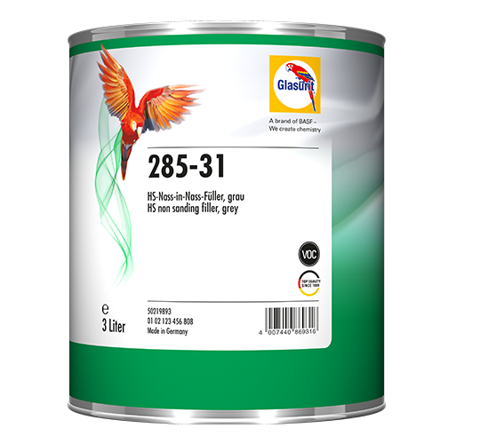 Glasurit 285-31 Non-Sanding Filler grey