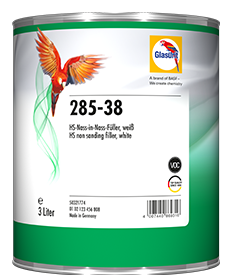 Glasurit 285-38 Non-Sanding Fille white