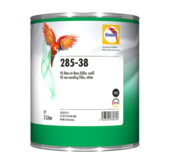 Glasurit 285-38 NON-SANDING-FILLER WHITE