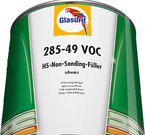 Glasurit 285-49 Non-Sanding Fille black