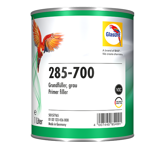 Glasurit 285-700 Primer Filler grey