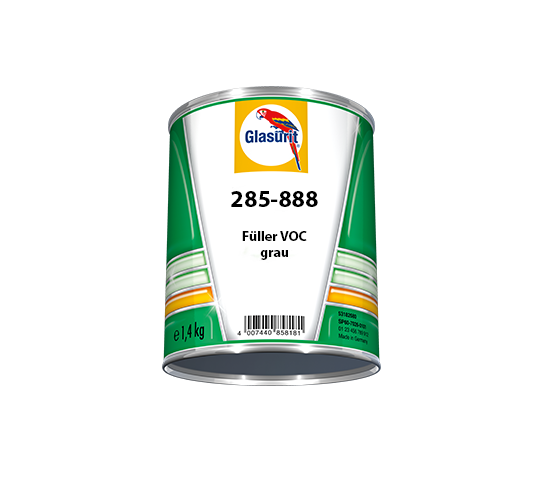 Glasurit 285-888 Fyller VOC grå