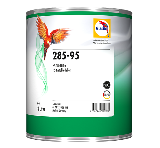 Glasurit 285-95 VOC Fondo colorabile HS, tinteggiabile con S 22