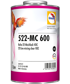 Glasurit 522-MC 600 Incolore de mélange VOC