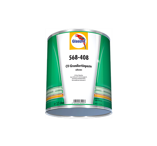 GLASURIT 568-408 3,5L CV Primer Tint. Paste black