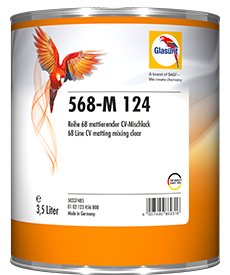 Glasurit 568-M 124 CV MATT BINDEMEDEL