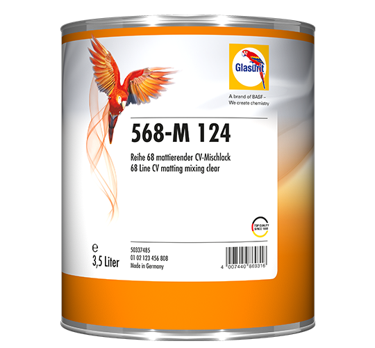 Glasurit 568-M 124 CV Matting Mixing Clear