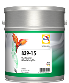 Glasurit 839-15 CV Flexible Body Filler
