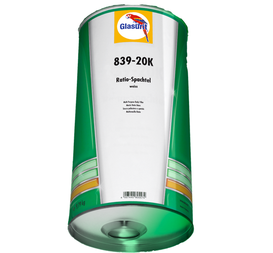 Glasurit 839-20K RATIO-Body Filler, cartridge