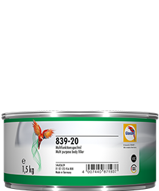 Glasurit 839-20 Stucco poliestere a spatola Glasurit RATIO, bianco