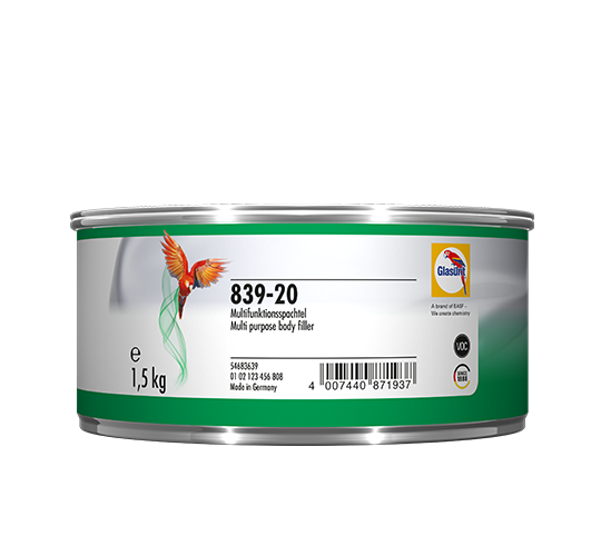 Glasurit 839-20 Ratio-Multimasilla, blanco