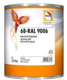 Glasurit 68-RAL 9006 Ready-Mix