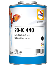 Glasurit 90-IC-440 Interiør lakksystem Metallic/Solide/Perlseeffekt