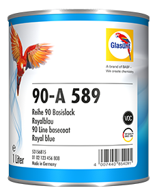 Glasurit 90-VE Agua WE con aditivo