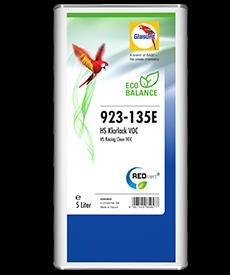 Glasurit 923-135E Trasparente acrilico HS, VOC Eco Balance