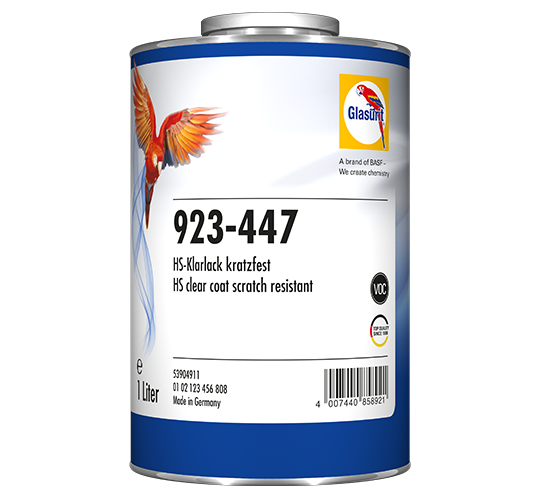 Glasurit 923-447 HS CLEAR SCRATCH-RESISTANT VOC