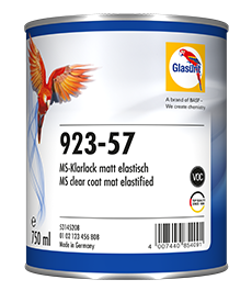 Glasurit 923-57 MS Elastisk matt klarlakk