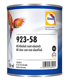 Glasurit 923-58 Laca Mate elástica