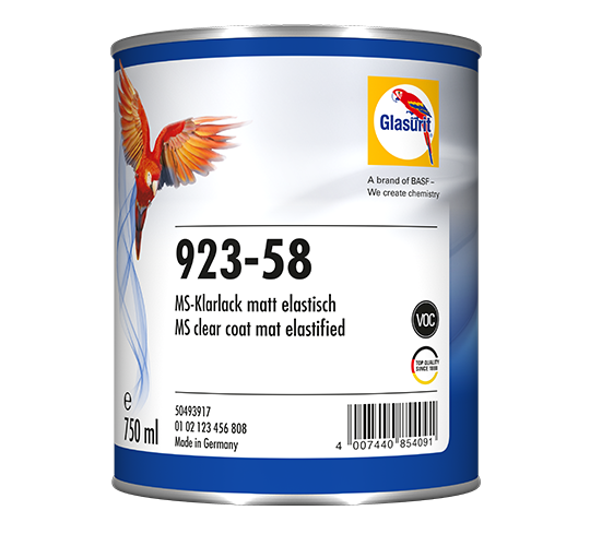 Glasurit 923-58 MS Clear matt Flexible
