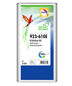 Glasurit 923-610E Eco Balance HS CLEAR FAST DRYING VOC