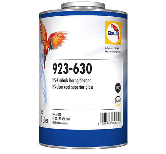 Glasurit 923-630 HS Laca superior gloss VOC