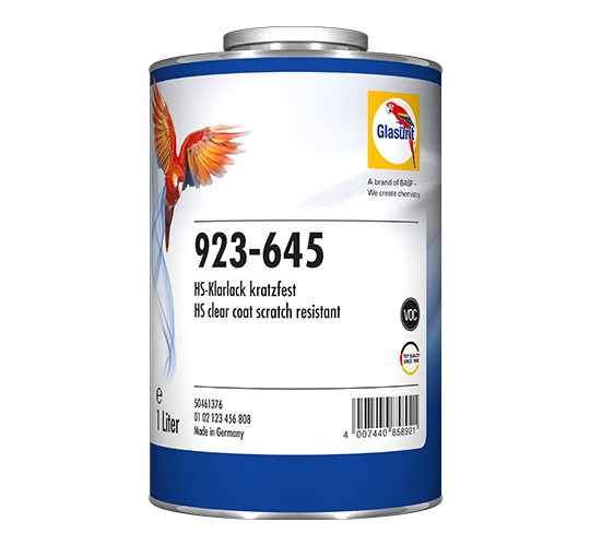 Glasurit 923-645 HS Clear Scratch-Ressistant VOC