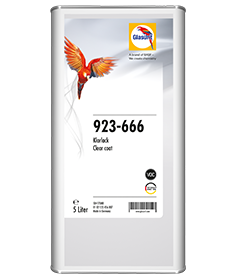 Glasurit 923-666 kirkaslakka VOC