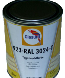 Glasurit 923 DAYLIGHT FLUORESCENT PAINT
