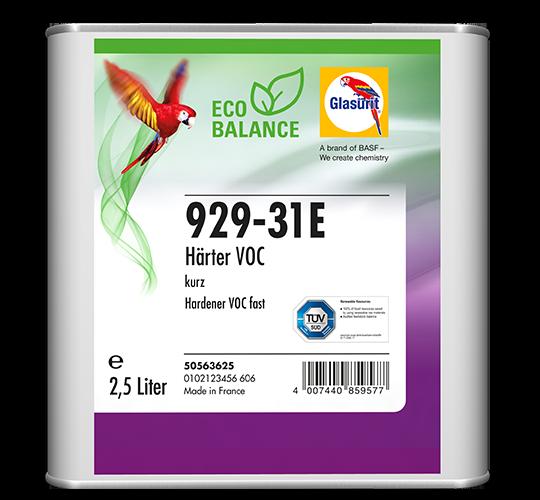 Glasurit 929-31 Catalizzatore rapido per Serie 22 VOC e trasparenti VOC EcoBalance