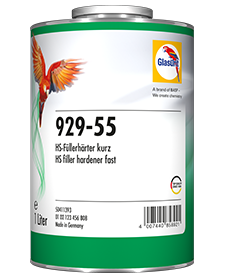 Glasurit 929-55 HS KORT FYLLERHERDER OG Glasurit 929-56 HS NORMAL FYLLERHERDER