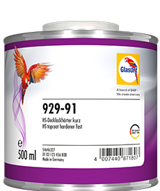 Glasurit 929-91 HS Topplakkherder