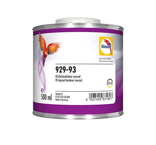 Glasurit 929-93 HS Topcoat Hardener Normal